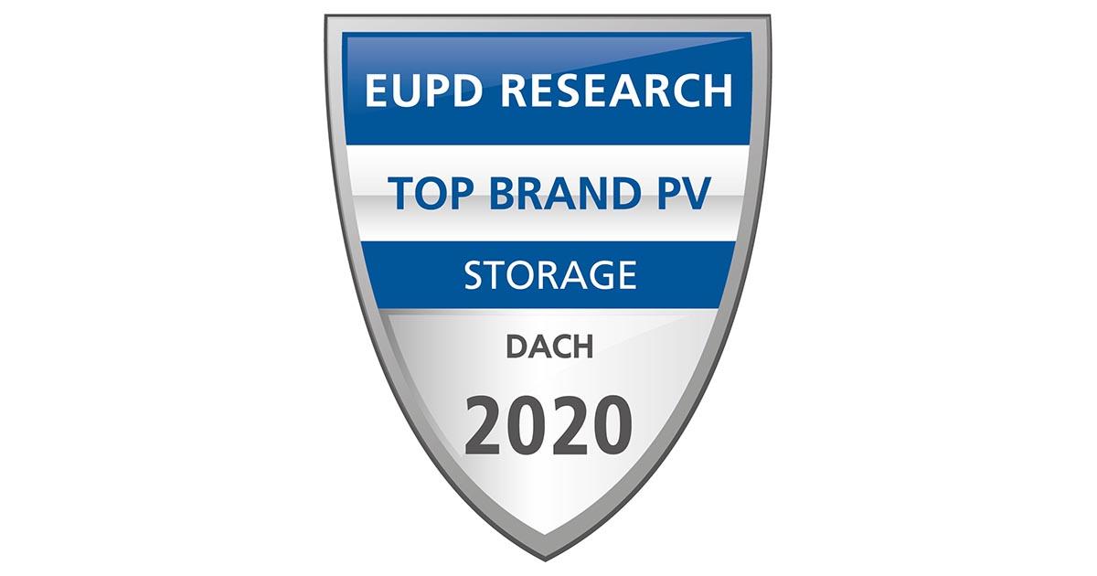 """E3/DC ist auch 2020 """"Top Brand PV Speicher"""" in Deutschland"""