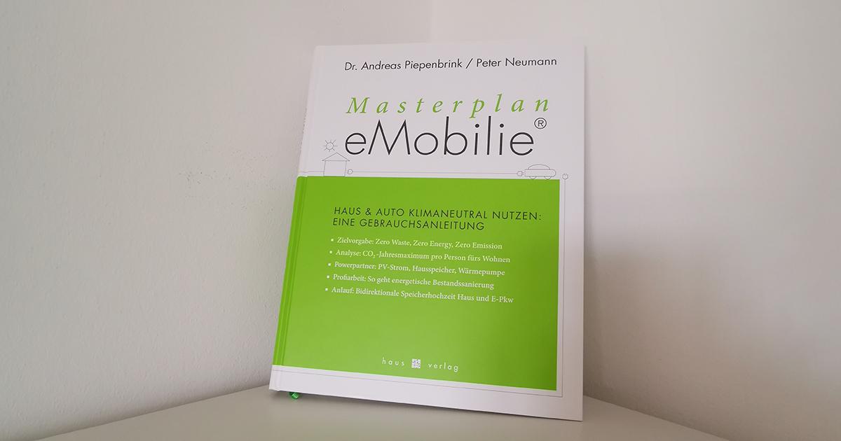 """Buchpremiere: """"Masterplan eMobilie"""""""